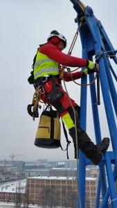 praca na wysokości alpiniści
