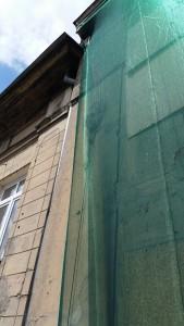 Zabezpieczenie przed spadającymi cegłami Łódź