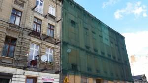 Siatki ochronne na budynki